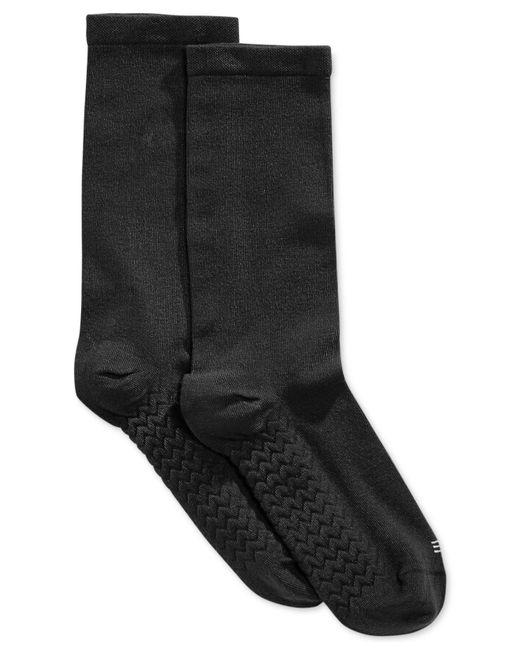 Hue - Black Massaging Sole Socks - Lyst