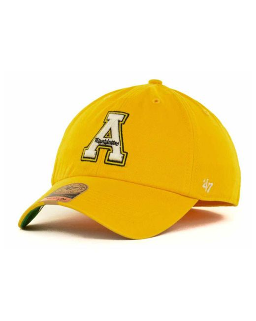 47 Brand | Metallic Appalachian State Mountaineers Ncaa '47 Franchise Cap for Men | Lyst