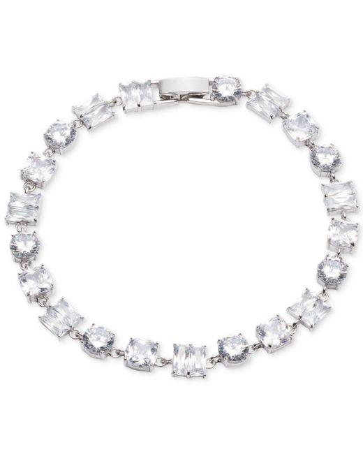 Carolee   Metallic Social Soiree Single Row Flex Tennis Bracelet   Lyst