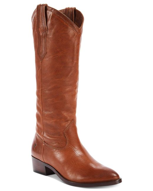 Frye | Brown Ray Pull-on Boots | Lyst