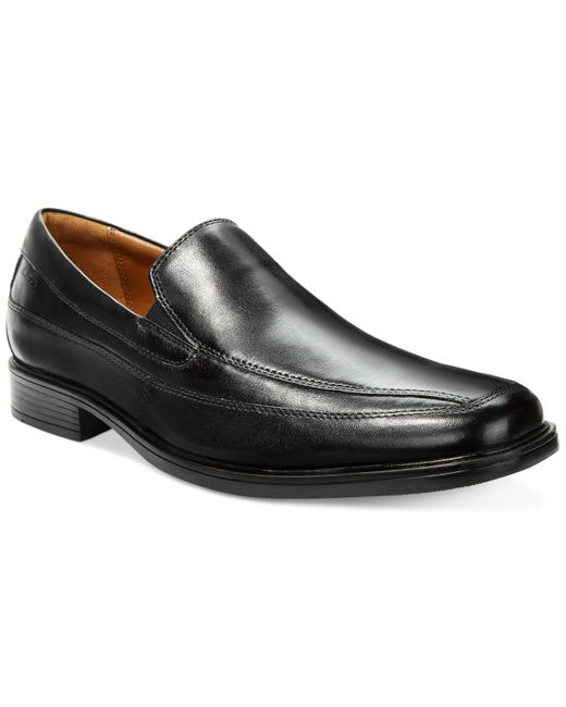 Clarks | Black Tilden Free Loafers for Men | Lyst