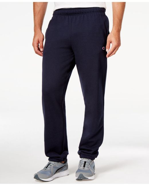 Lyst - Champion Men's Powerblend Fleece Relaxed Pants in