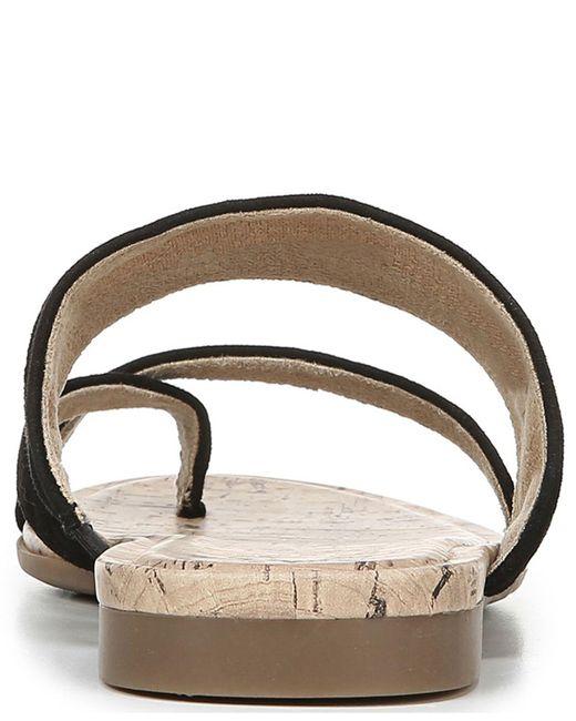 d061822b8d52 ... Naturalizer - Black Shannon Thong Sandals - Lyst ...