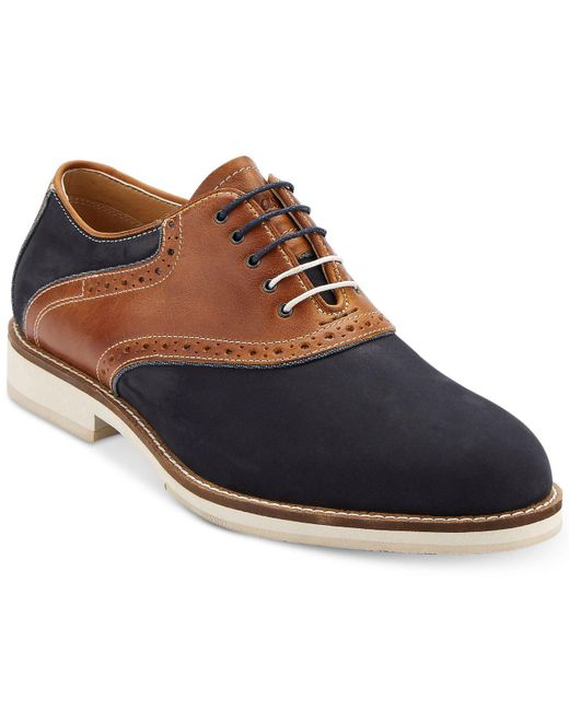 G.H. Bass & Co. | Multicolor Men's Noah Saddle Shoes for Men | Lyst