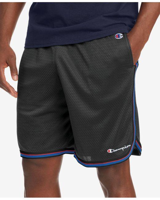 543627cb4cc9 Champion - Black 89519 Core Basketball Short for Men - Lyst ...