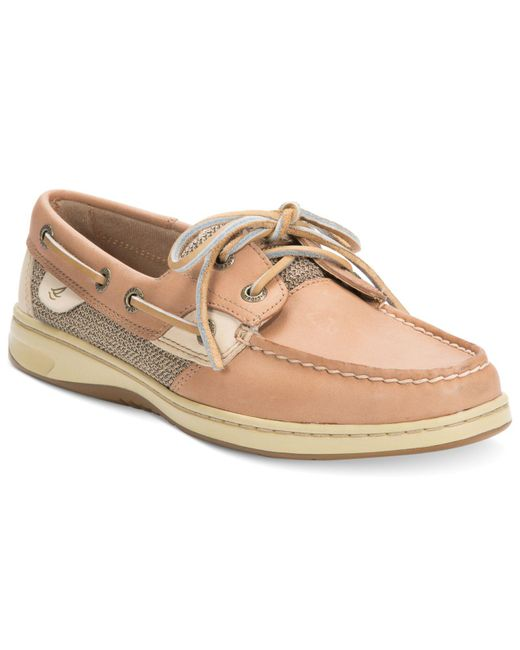 Sperry Top-Sider | Natural Bluefish Boat Shoes | Lyst