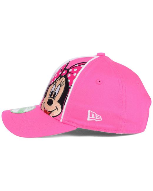 another chance 45214 81a84 ... KTZ - Pink Pittsburgh Pirates Face Front Minnie 9forty Cap - Lyst ...