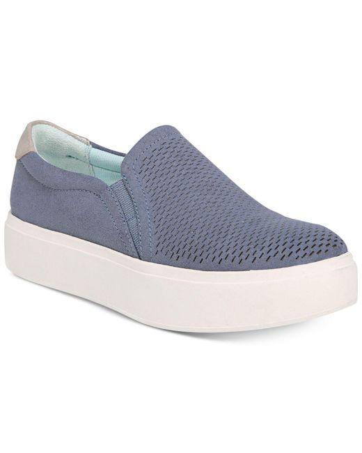 Dr. Scholls - Blue Kinney Slip On Sneakers - Lyst