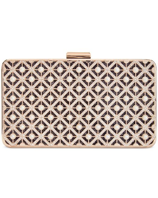 INC International Concepts | Metallic Nelaa Clutch | Lyst