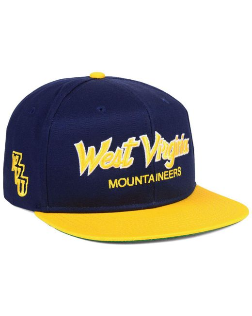 wholesale dealer 40ca6 ff846 ... Nike - Blue West Virginia Mountaineers Sport Specialties Snapback Cap  for Men - Lyst ...
