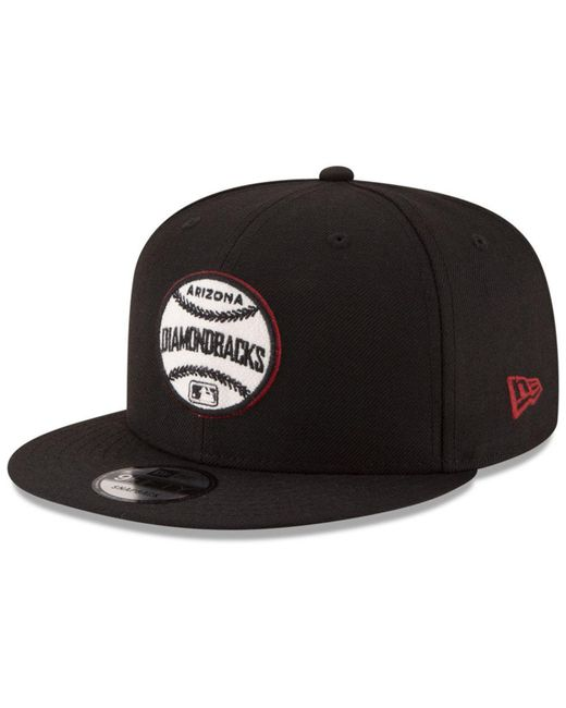 KTZ - Black Arizona Diamondbacks Vintage Circle 9fifty Snapback Cap for Men - Lyst