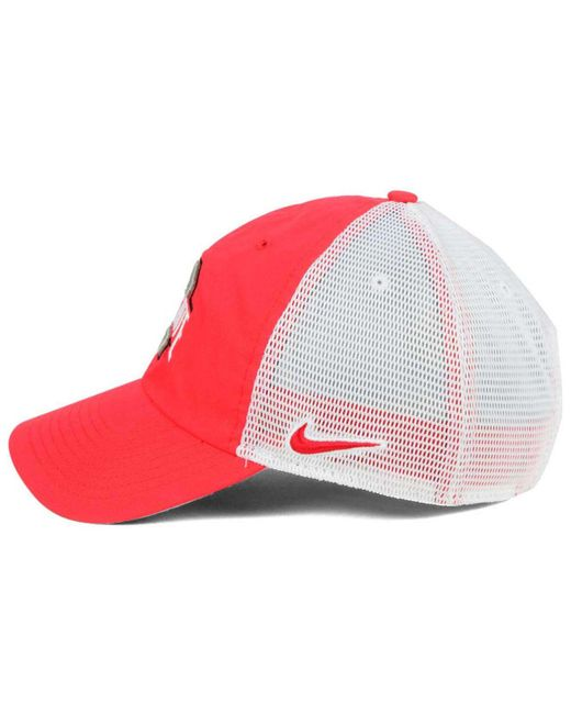 0cfc410ee32 ... Nike - Red Benassi Hook H86 Cap for Men - Lyst ...