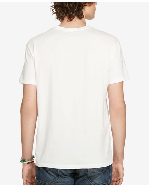d2fe755f8 Polo ralph lauren Polo By Ralph Lauren Core Polo Pocket T-shirt in White  for Men