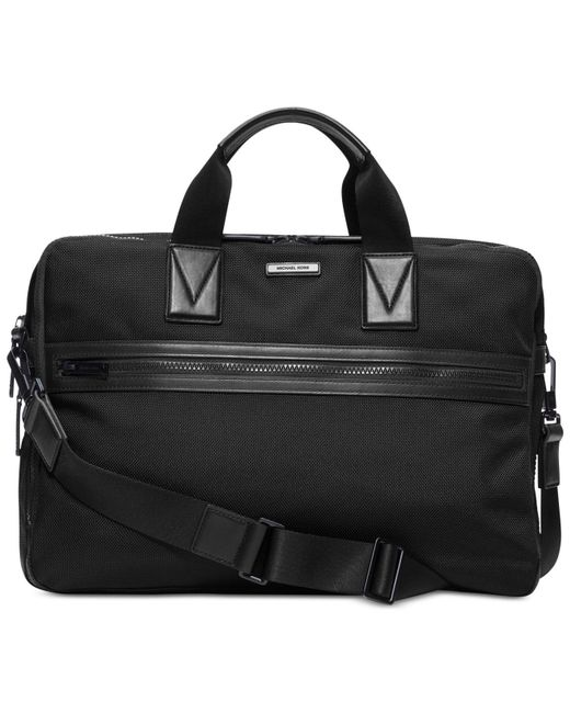 Michael Kors - Black Parker Large Briefcase for Men - Lyst