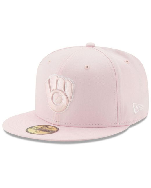 ... KTZ - Pink C-dub Patch 59fifty Cap for Men - Lyst ... f32a1ce391be
