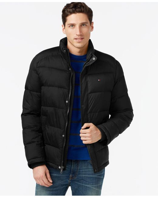 Tommy Hilfiger | Black Classic Puffer Jacket for Men | Lyst