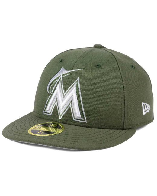 KTZ - Green Low Profile C-dub 59fifty Cap for Men - Lyst