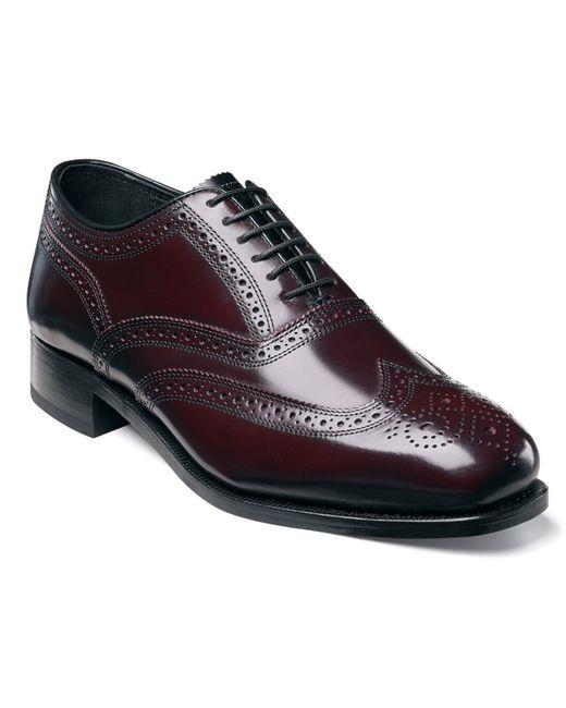 Florsheim | Purple Shoes, Lexington Wing Tip Oxford Shoes for Men | Lyst
