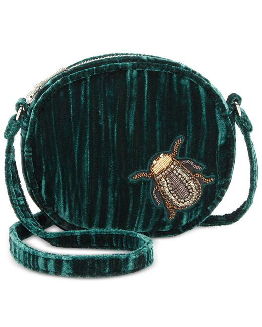 Steve Madden | Green Lotus Mini Canteen With Bug Appliqués | Lyst