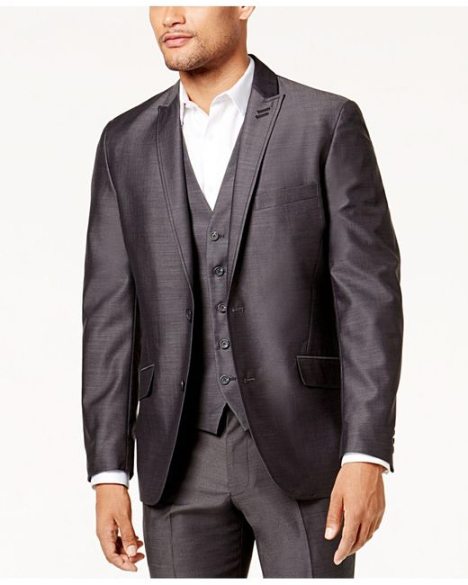 INC International Concepts - Gray Slim Fit Royce Blazer for Men - Lyst