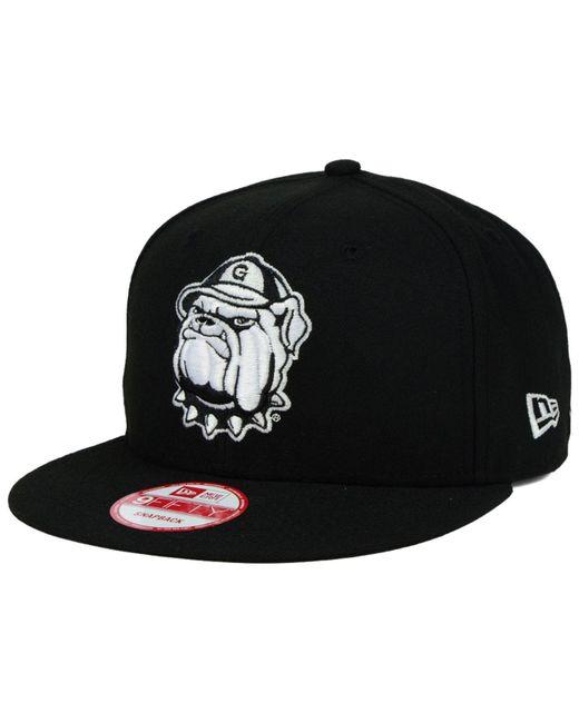 KTZ - Georgetown Hoyas Black White 9fifty Snapback Cap for Men - Lyst