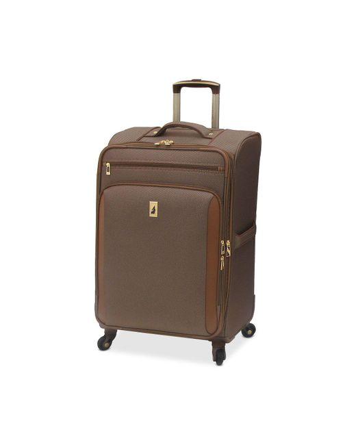 """London Fog - Multicolor Kensington 25"""" Softside Spinner Suitcase for Men - Lyst"""