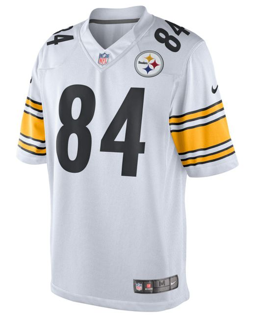 ... Nike - White Men s Antonio Brown Pittsburgh Steelers Game Jersey for  Men - Lyst 6f2cea8de