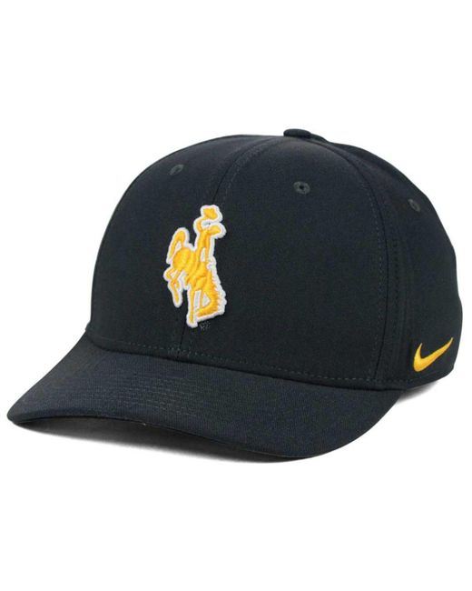Nike - Gray Wyoming Cowboys Classic Swoosh Cap for Men - Lyst ... 2d3d7bd2ead0