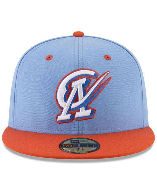 ... KTZ - Blue Oklahoma City Dodgers Ac 59fifty Fitted Cap for Men - Lyst  ... 56e5346f5afb