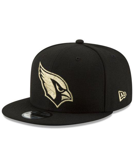 KTZ - Black Arizona Cardinals Tracer 9fifty Snapback Cap for Men - Lyst