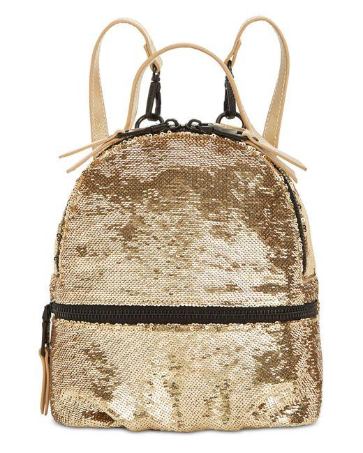 19476632cba2 Steve Madden - Black Tiara Sequins Backpack - Lyst ...
