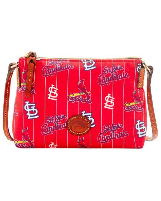 Dooney & Bourke | Red Mlb Cardinals Crossbody Pouchette | Lyst
