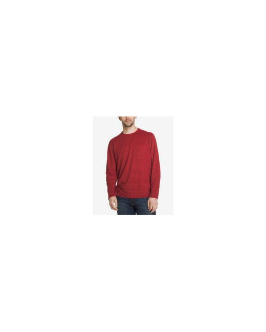 G.H. Bass & Co.   Red Men's Space-dyed Shirt for Men   Lyst
