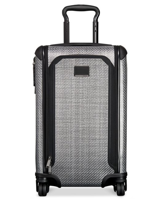 """Tumi   Gray Tegralite Max 22"""" International Expandable Carry-on Hardside Suitcase for Men   Lyst"""