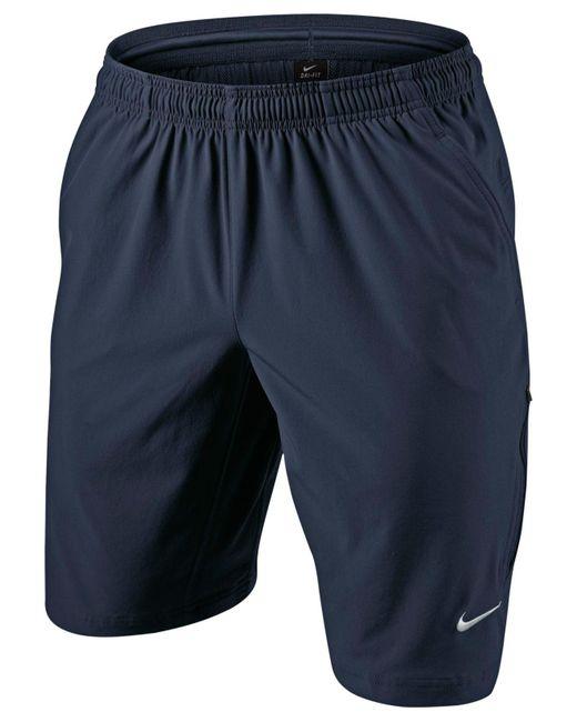 "Nike | Blue N.e.t. 11"" Woven Tennis Shorts for Men | Lyst"