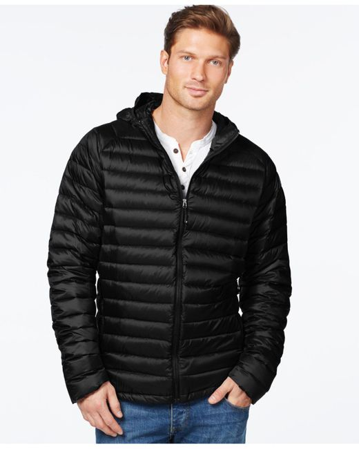 32 Degrees | Black Packable Down Jacket for Men | Lyst