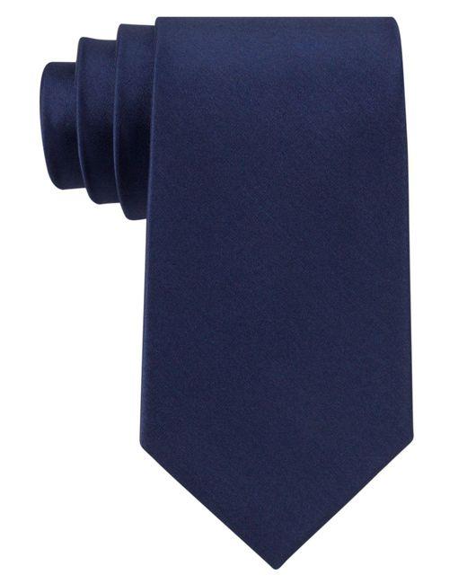 Michael Kors - Blue Tie, Sapphire Solid Ii for Men - Lyst