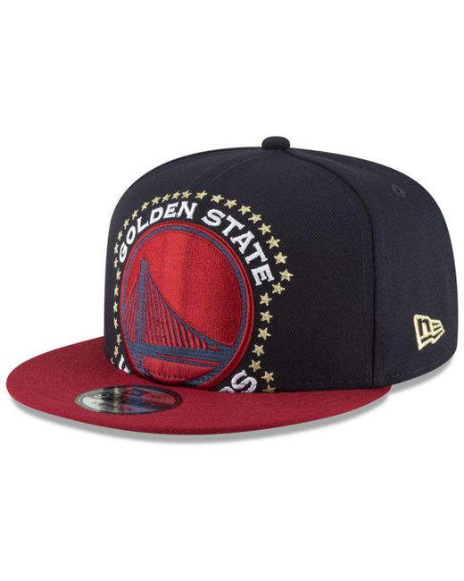 da0e28a9901 ... new arrivals ktz blue golden state warriors xl americana 9fifty  snapback cap for men lyst 05b68