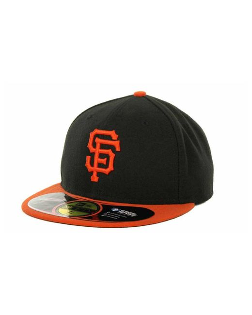 KTZ Green San Francisco Giants Authentic Collection 59fifty Hat for men