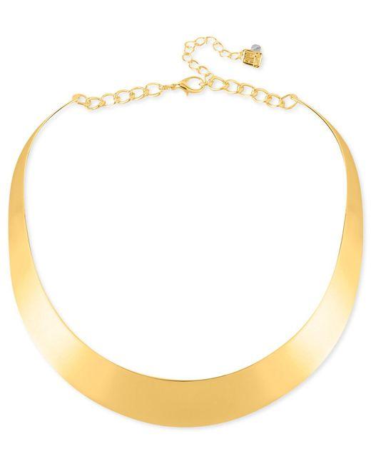Robert Lee Morris | Metallic Necklace, Half-moon Collar Necklace | Lyst