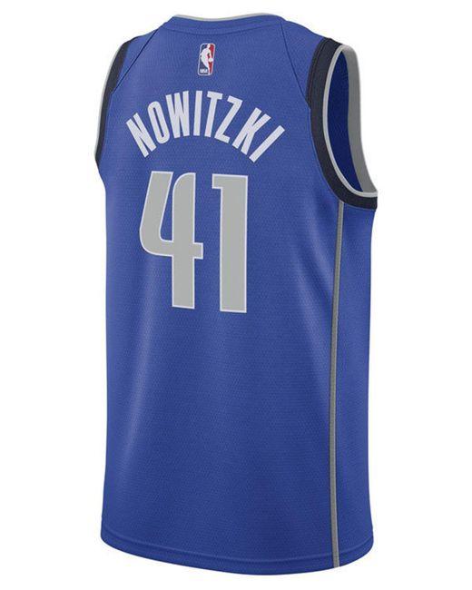 Nike - Blue Dirk Nowitzki Dallas Mavericks Icon Swingman Jersey for Men -  Lyst ... 4d333d674