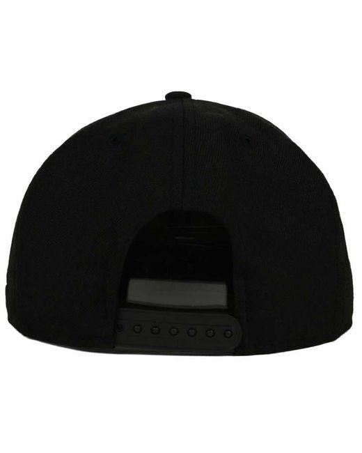 356187f8 ... aliexpress ktz black new york yankees b dub 9fifty snapback cap for men  lyst 0a71d d28d8