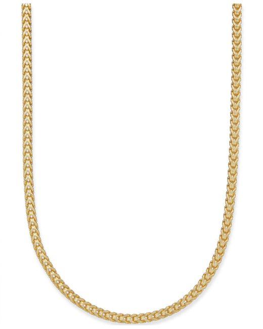 Macy's   Metallic Franco Chain Necklace In 14k Gold   Lyst