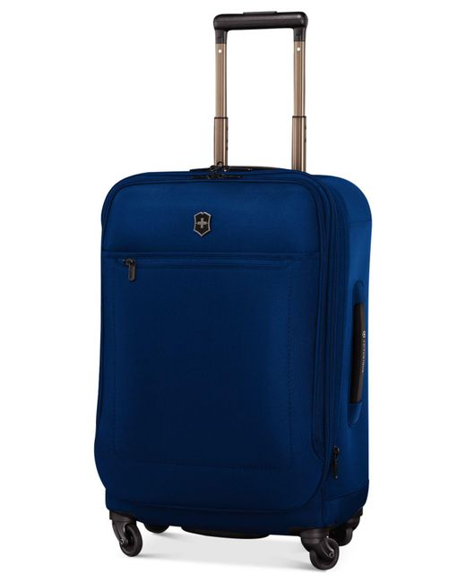 """Victorinox - Blue Avolve 3.0 22"""" Global Carry-on Expandable Spinner Suitcase for Men - Lyst"""
