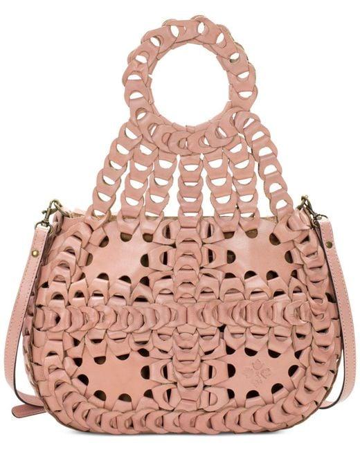 Patricia Nash   Pink Ticci Medium Shoulder Bag   Lyst