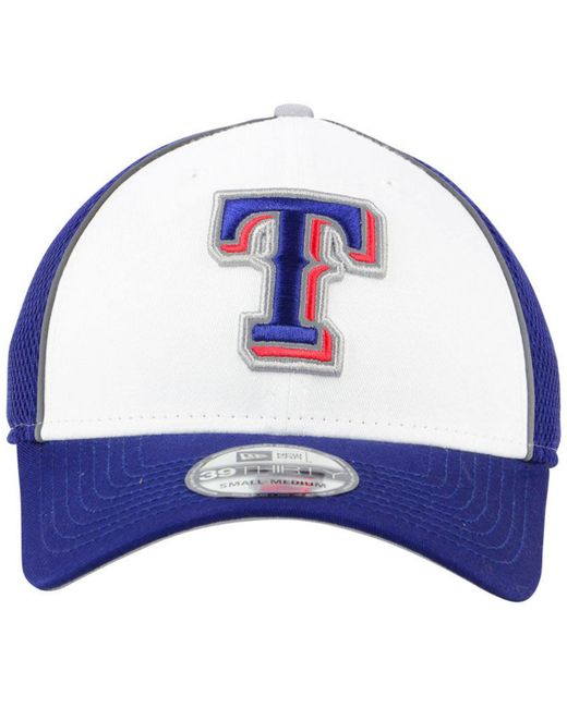... KTZ - Blue Texas Rangers Pop Reflective 39thirty Cap for Men - Lyst ... 87b03a6b36d1