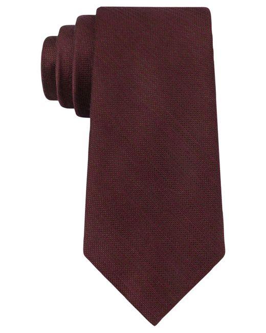 Michael Kors - Purple Luxe Variation Solid Slim Tie for Men - Lyst