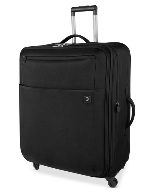 "Victorinox | Black Closeout! Victorinox Avolve 2.0 27"" Expandable Spinner Suitcase for Men 