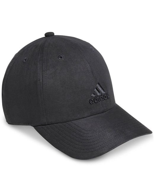Adidas - Gray Women Saturday Suede Cap - Lyst ... 605c65b8738