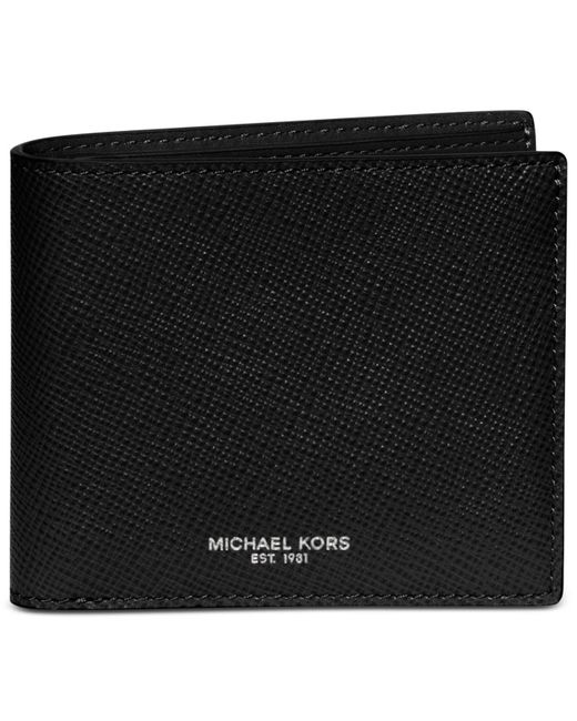 Michael Kors - Black Harrison Billfold for Men - Lyst